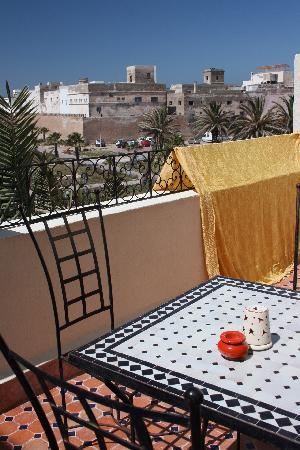 Riad des Palmiers : uitzicht 3e verdieping