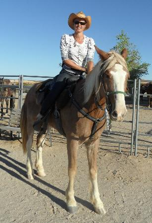 Stagecoach Trails Guest Ranch: Me and Toby