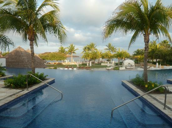 The St. Regis Punta Mita Resort: one of the pools