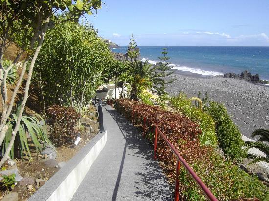 Orca Praia Hotel : le chemin menant à la piscine