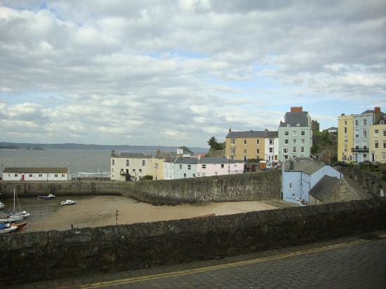 The Imperial Tenby Hotel: town and harbour