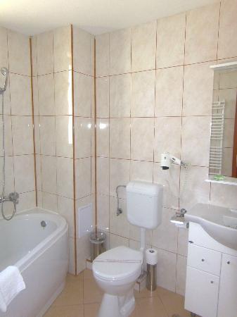 Hotel Alexandra: Bathroom