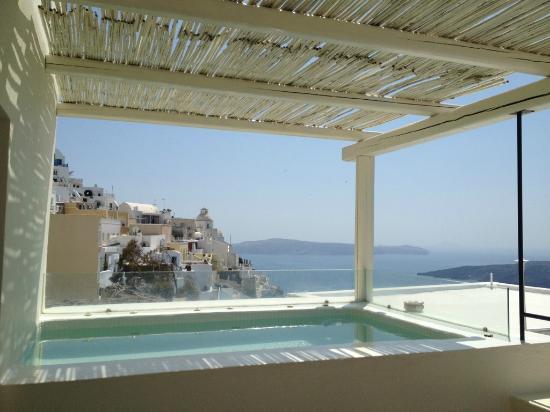 Enigma Apartments & Suites: vue de la terrasse