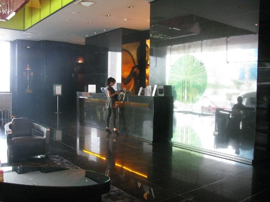 Le Meridien Panama: Reception area