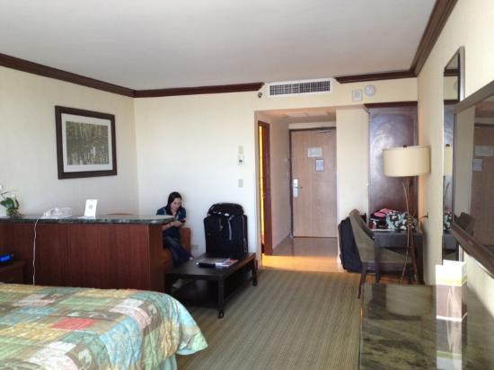 Newport Beachside Hotel and Resort: Interior de la habitación
