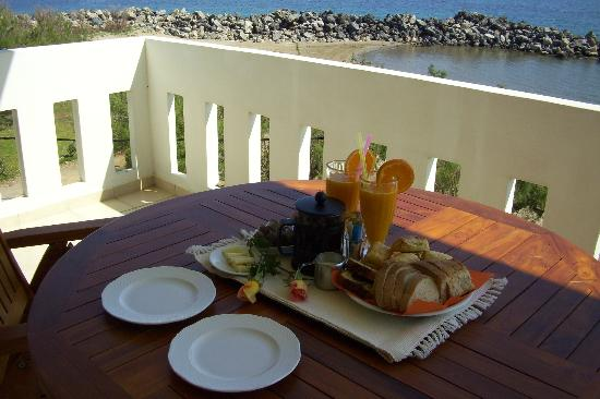 Aphrodite Beach Hotel: Το πρωινό μας