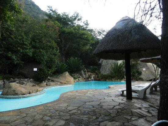 Ithala Game Reserve : Lovely swimming area
