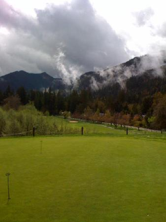 The Courses at The Resort at The Mountain: View from the clubhouse