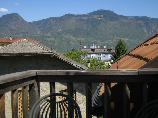 Hubengut Apartments: from balcony of Rosengarten appt