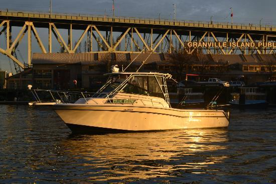 Bon Chovy Fishing Charters: Granville Island Fishing Charter Boat
