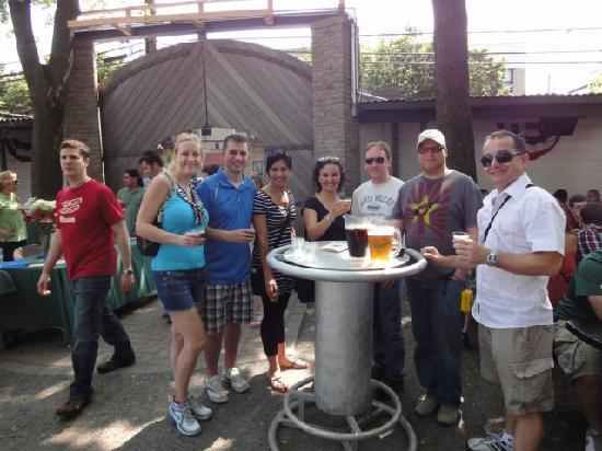 The New York Beer and Brewery Tour: Bohemian Hall and Beer Garden