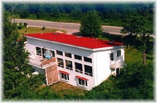 Red Top Bed and Breakfast: Air picture of the B&B