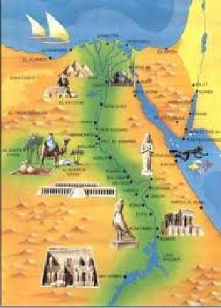 Egypt Map Picture Of Pharaoh Egypt Tours Day Tours Cairo - Egypt map
