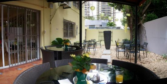 Lemon Inn Panama: Patio y area comun