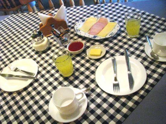Hotel Residencial Riga: Desayuno como en casa