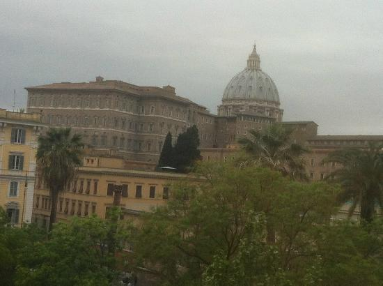 Vatican Vista: View from our room