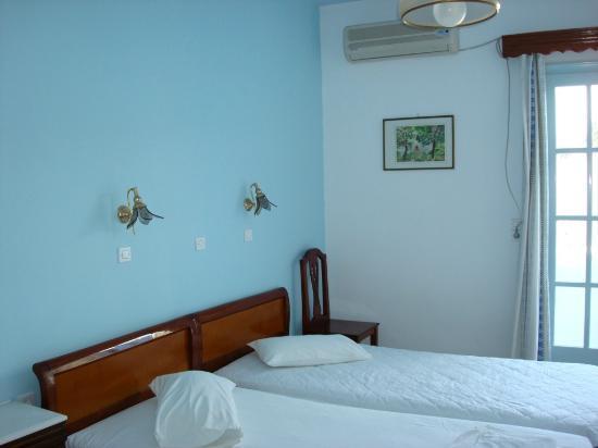 Villa Pavlina : habitación con aires acondicionado
