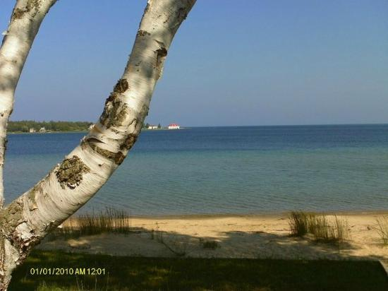 Beaver Island, MI: View from room #4