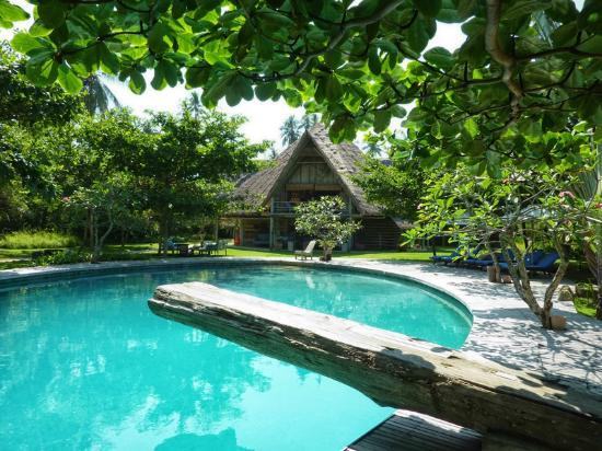 Pulau Joyo: The pool