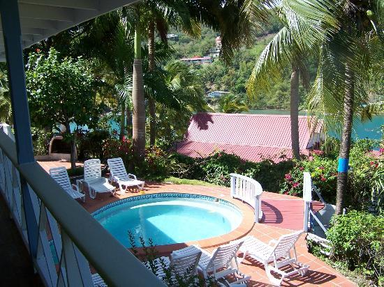 Oasis Marigot: Plunge pool