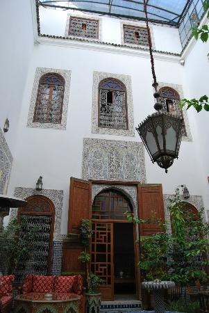 The courtyard of Riad Ghita