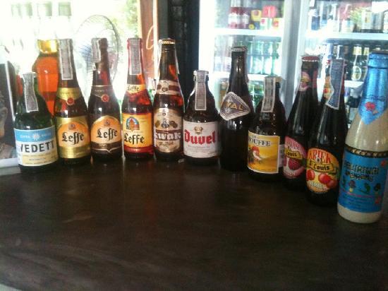 Belgian Beer Bar/restaurant: belgian beer