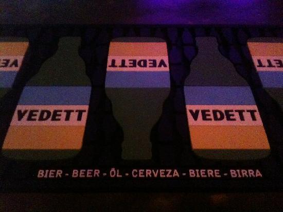 Belgian Beer Bar/restaurant: vedett
