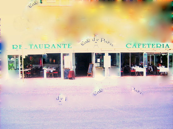 Cafe de Paris: VISTA FRONTAL