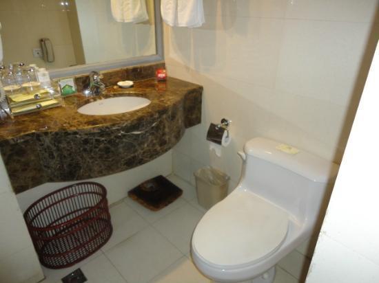 Yan Bei Hotel: ドライヤーあり、浴槽無し