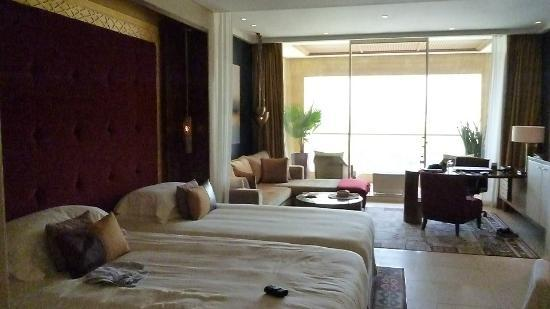 Nice size well decorated rooms. - Picture of Raffles Dubai, Dubai ...
