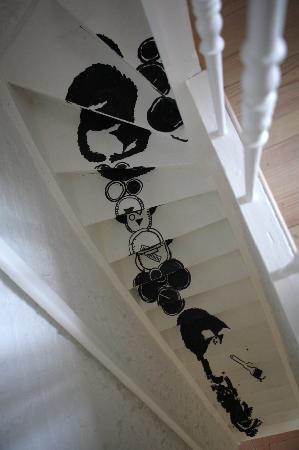 B&B Goeiemorgen!: Striptekenaar Serge Baeken illustreert de trappen