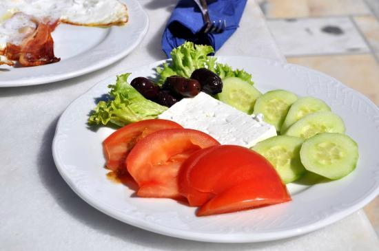 Xenones Filotera: Vegetarian plate - breakfest