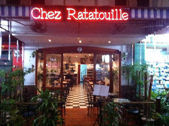 Chez Ratatouille from the street
