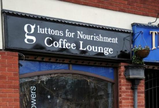 Γούλβερχαμπτον, UK: Gluttons For Nourishment Cafe, Tettenhall, Wolverhampton