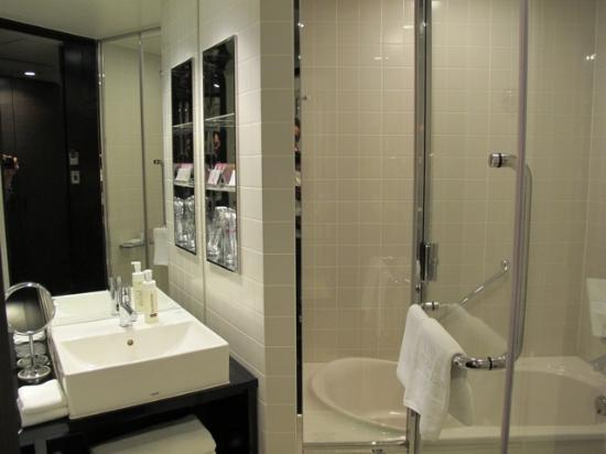 Mitsui Garden Hotel Ginza Premier: new modern room and bathroom