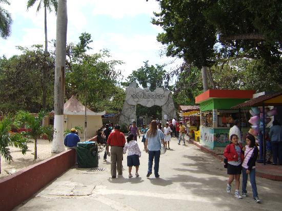 Zoological Park of Centenario ( Parque Zoologico del Centenario): entrance to the zoo