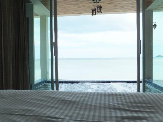 Samui Island Beach Resort and Hotel: View from the Bedroom