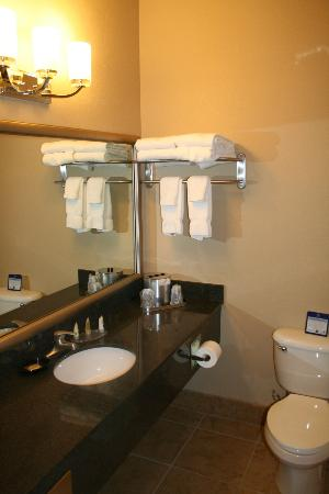 Best Western Plus Winslow Inn: Bathroom.
