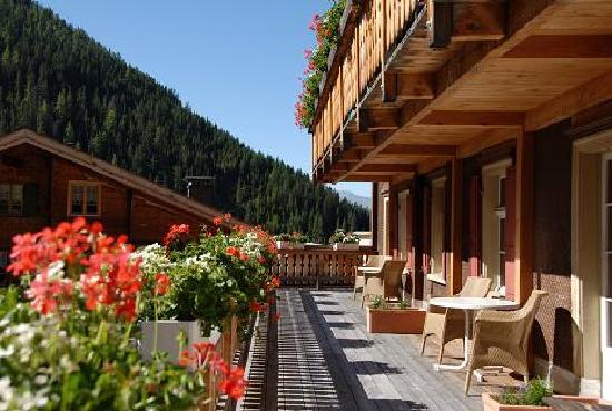 Hotel Ducan: Balkon