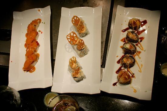 AU COMPTOIR NIPPON: sushi