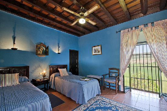 Hacienda El Santiscal: Superior con balcón