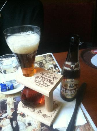 Le Dixseptieme: Last Belgian beer at the pub thirty yards away.