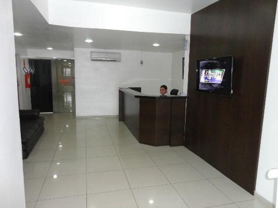 Hotel Pio: Recepção.