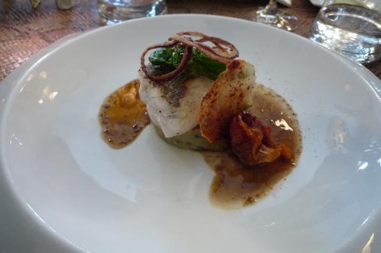 Restaurant Le Bistro de la Tour : Fish main course