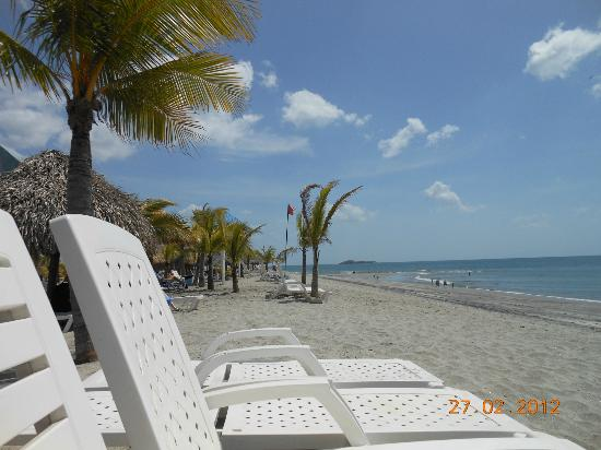 Hotel Playa Blanca Beach Resort: quiet beach