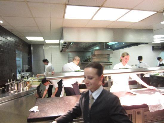 Restaurant Gordon Ramsay: küche