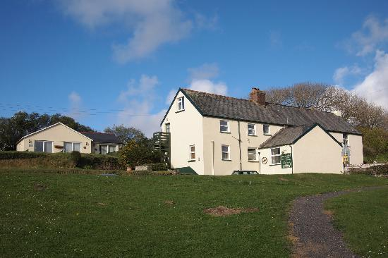 Ossaborough House: Main House with Garden Rooms at rear.