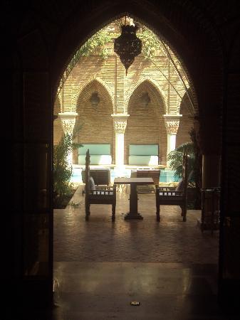 La Sultana Marrakech: Vue piscine