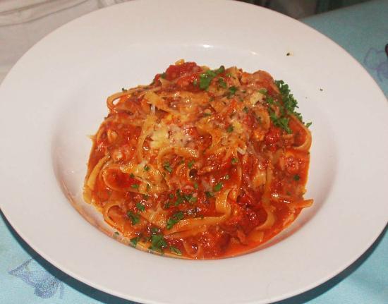 Hotel Panamonte : Short Rib Ragu on pasta.