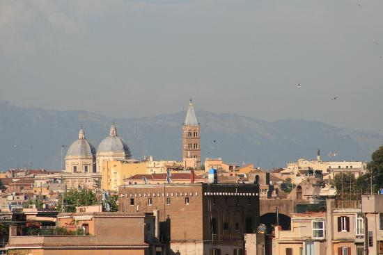 Hotel San Francesco: View from the roof bar